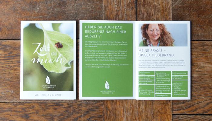 Naturheilpraxis Hildebrand – Corporate Design