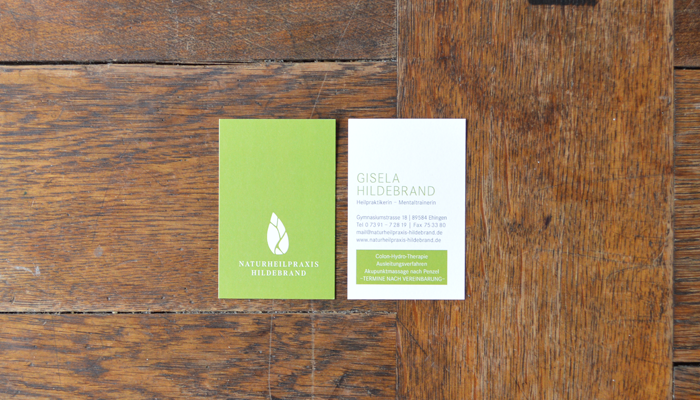 Naturheilpraxis Hildebrand – Corporate Design